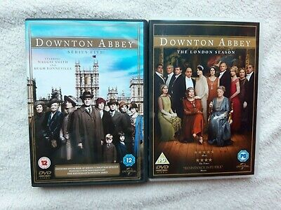 Downton Abbey Complete Series Five 5 + London Season Uk R2 Dvd  Bundle Vgc  • 7.99£