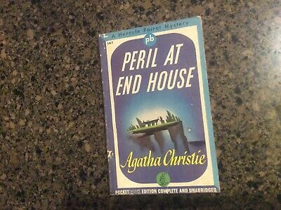 Peril At End House By Agatha Christie 1942 Pocket Book #167 • 7.24£