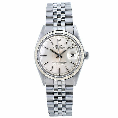 $ CDN5575.94 • Buy Rolex Datejust 1601 Jubilee Men's Watch 18K White Gold Bezel 36mm