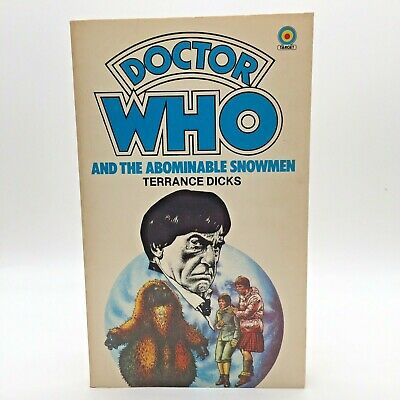 Doctor Who And The Abominable Snowmen By Terrance Dicks (1982, Target Paperback) • 12.95£