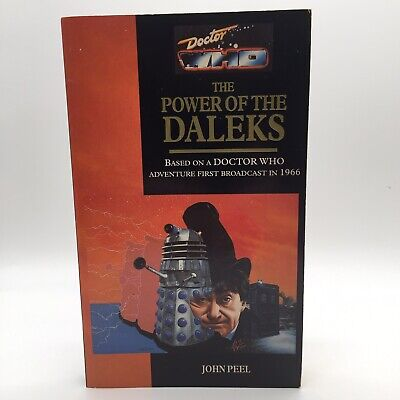 Doctor Who The Power Of The Daleks John Peel 1993 Target Paperback 1st Edition • 49.95£