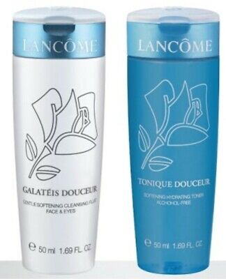 Lancome Tonique Douceur & Galateis Douceur Duo Both Cleanser & Toner Are 50ml  • 16.95£