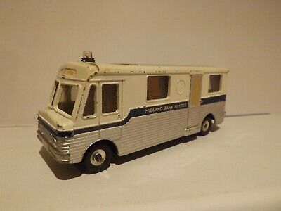Dinky Toys 280...a Mobile Midland Bank Van..un Boxed In Good Used Condition... • 17£