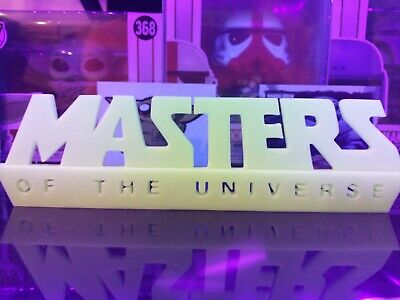 $12 • Buy GitD Masters Of The Universe Display Sign For Funko Pops