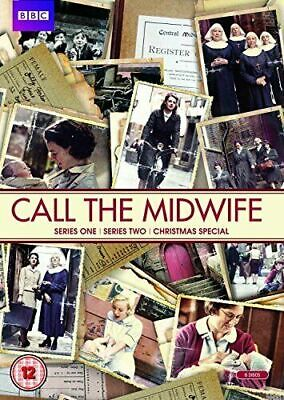 Call The Midwife. Series 1 & 2. Series One & Series Two. 6 Disc Dvd Set. R2 + 4 • 3.98£