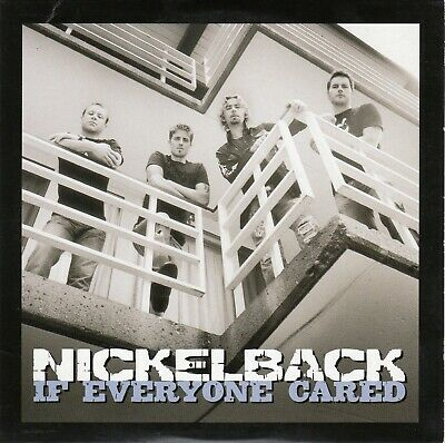 Nickelback Card Cover Promo CD Single: If Everyone Cared - With The Radio Edit • 9.99£