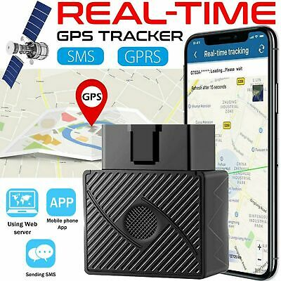 GPS Tracker Real-Time OBD 2 Vehicle Car Truck Van Tracking Device Locator 16 Pin • 16.49£