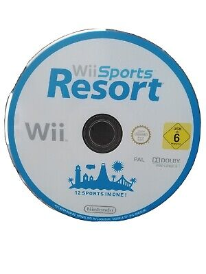 Wii Sports Resort Nintendo Wii PAL Game Disc Only 12 Sports UK SELLER • 7.99£