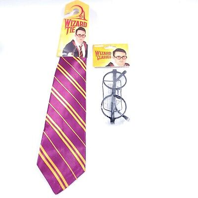 $ CDN13.32 • Buy Harry Potter Wizard Costume Tie & Glasses Theater Toy Dress Up Outfit Halloween