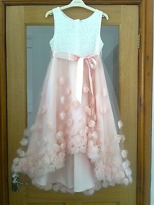 Monsoon Girls *10 Rosie Cascade Tulle HIGH LOW Party/Wedding//PROM  Dress 10 Y • 4.99£