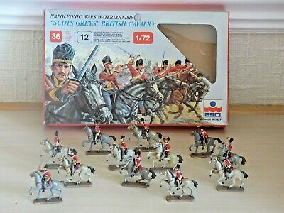 ESCI 12 1:72 Scale Soldiers Scots Greys British Cavalry – Painted  • 0.99£