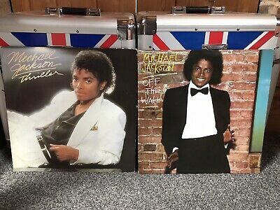 Michael Jackson Off The Wall & Thriller Double Record Vinyl Lp VG  • 19.99£