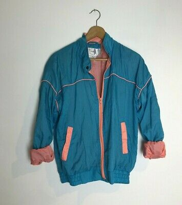 Vintage Shell Suit Tracksuit Jacket Top Size 10 Small • 1£
