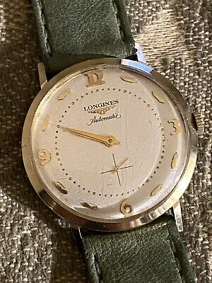 $ CDN396.42 • Buy Vintage Longines Automatic  14K Gold Filled Men's Wristwatch  Cal.19A