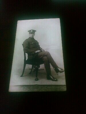 Old Postcard British Soldier Cheshire Regiment (Harry Bullock) • 1.99£