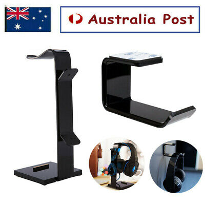AU15.99 • Buy Universal Headphone Stand Holder Headset Earphone Desk Display Hanger Bracket