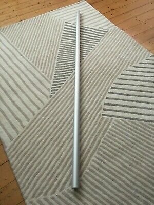 Pair Of Ikea Stolmen Poles Silver Finishwith Foot And Ceiling Fittings.  • 30£