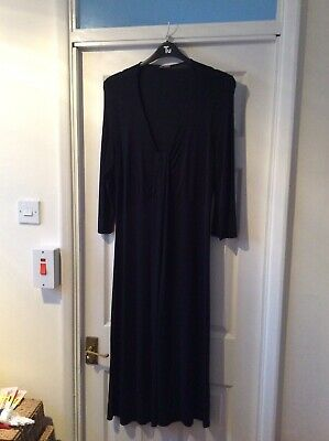 Marks And Spencer Autograph Size 22 Black Dress  • 4.50£