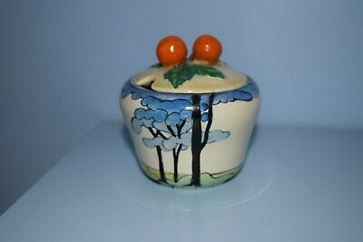 A Very Rare Clarice Cliff  Blue Firs  230 Shape Preserve Pot 1933  • 225£
