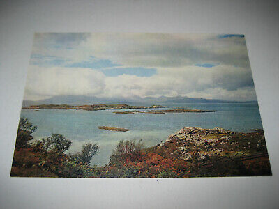 Old Colour Postcard Of The Isle Of Skye From Kyle Of Lochalsh, Scotland. #64 • 5£