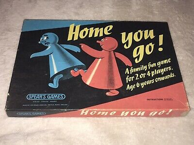 BOXED VINTAGE HOME YOU GO GAME 1960s / 70s • 0.99£