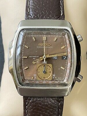$ CDN67 • Buy Seiko Monaco 7016-5020 Flyback Vintage Chronograph Cleaned Working