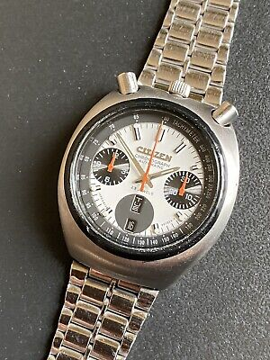 $ CDN146.50 • Buy Rare Vintage Citizen Bullhead Chronograph 8110A Men's Wrist Watch.