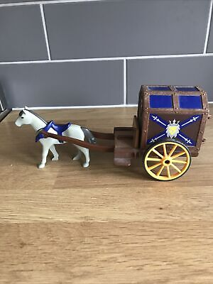 Playmobil Knights Horse And Cart • 3.20£