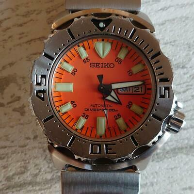 $ CDN703.82 • Buy Seiko Diver Orange Monster Mens Wrist Watch Auto Pre-owned Working