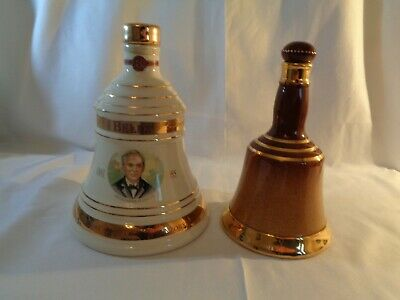 Wade Pottery Bells Scotch Whisky Collectable Bell Shaped Bottles • 10£