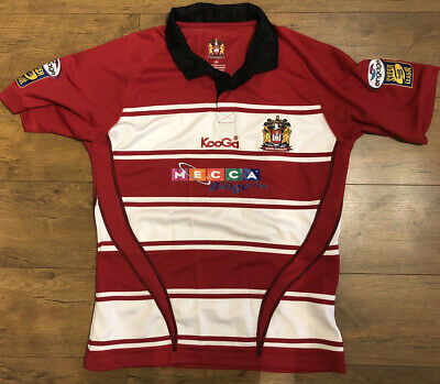 Wigan Warriors Rugby League Shirt, Size Large, Excellent Condition   • 15£