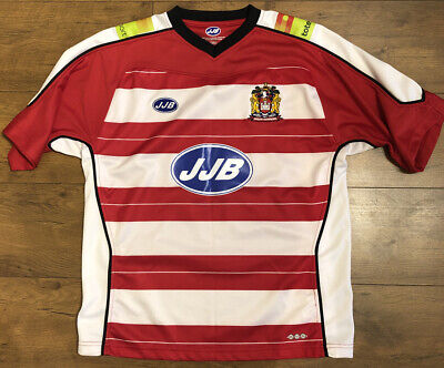 Wigan Warriors Rugby League Shirt, Size Large, Excellent Condition • 12£
