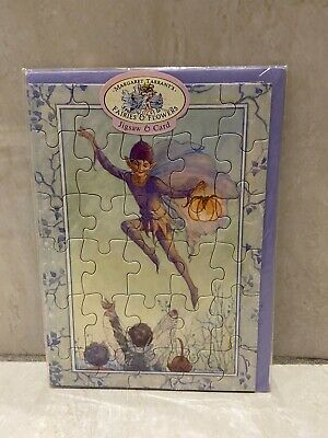 Fairies & Flowers Jigsaw & Card Margaret Tarrant Starlight Fairy Medici Card • 4.99£