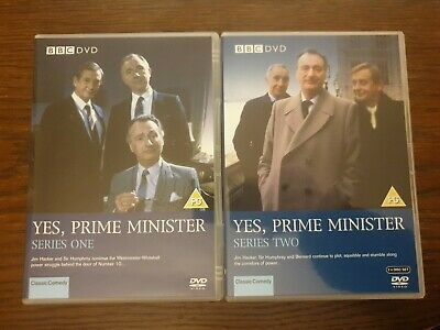 Yes, Prime Minister - Series 1 And 2 • 4£