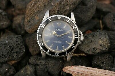 $ CDN10526.40 • Buy 1967 Rolex Submariner Ref. 5513 Project/Parts Running Swapped Blue Mosaic Dial