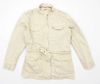 Craghoppers Womens Size 16 Cotton Beige Jacket • 10£