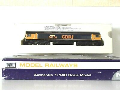DAPOL  N  GAUGE  CLASS  '66'   DIESEL   GBRf.  NEW.  DCC  COMPATIBLE. • 105.95£