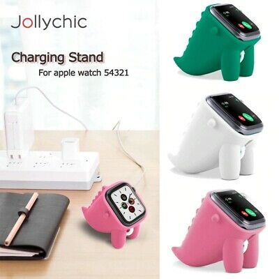 $ CDN10.23 • Buy For Apple Watch Series 6/5/4/3/2/1 Portable Dock Holder Silicone Charger Stand