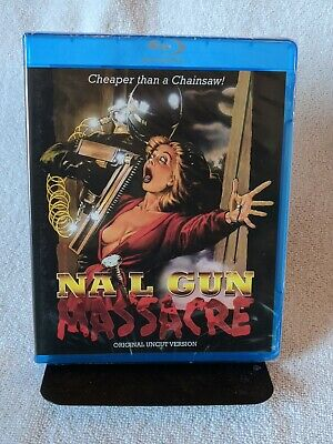(Blu-ray) NAIL GUN MASSACRE (1985) - Code Red - Brand New, Sealed, Rare & OOP • 33.61£