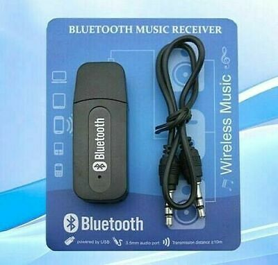 £2.75 • Buy For Car Laptop 3.5mm To USB Bluetooth Receiver AUX Audio BT Music Adapter System