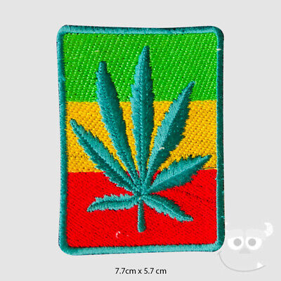 Rasta Flag Patch Embroidered Iron On Sew On Patch Badge For Clothes Etc • 1.99£