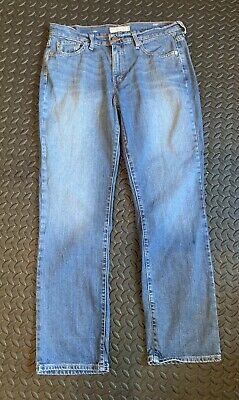 Levi's 505 Jeans Straight Leg Ladies Skingirl Retro Punk Mod (1) • 3£