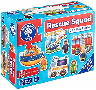£9.06 • Buy Orchard Toys Rescue Squad Jigsaw Puzzle