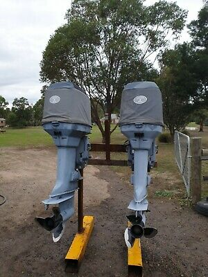 AU3500 • Buy 150 Johnson Outboard Motor's Pair Counter Rotating