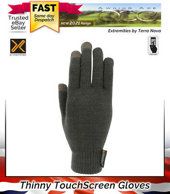 £10.99 • Buy Terra Nova Extremities Thinny Touch Warm Gloves - Touchscreen Thermal Gloves