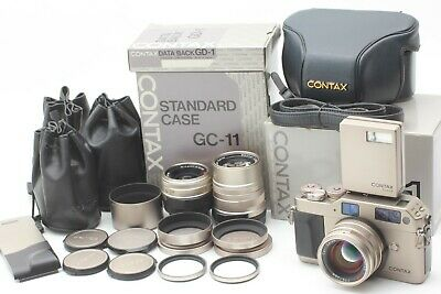 $ CDN1754.47 • Buy 【MINT In BOX】 Contax G1 Green Label Film Camera 28mm 45mm 90mm Lens From JAPAN