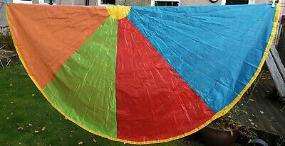 Early Learning Centre 2.5 Meter Kids Multi-colour Indoor Outdoor Play Parachute • 9.99£