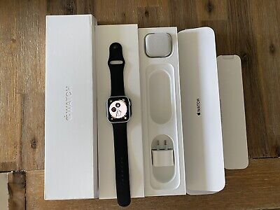 AU140.50 • Buy Apple Watch Series 4 44mm Silver Aluminum
