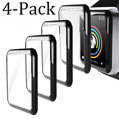 $ CDN5.50 • Buy For Apple Watch Series 1/2/3/4/5/6/SE Tempered Glass FULL Screen Protector