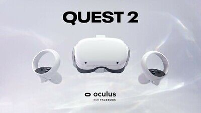 AU565 • Buy Oculus Quest 2 256GB All-in-One VR Headset - White 90Hz